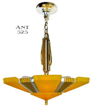 Streamline-Art-Deco-Antique-Chandelier-Mid-West-Mnf-6-Light-Beverly-(ANT-525)
