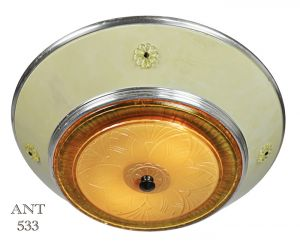 Art-Deco-Streamline-Style-Semi-Flush-Mount-Ceiling-Bowl-Light-Fixture-(ANT-533)