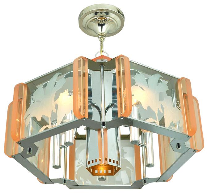 Mid Century Modern Semi Flush Mount Ceiling Light Fixture Chandelier Ant 577