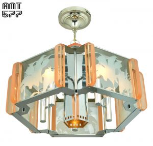 Mid Century Modern Semi Flush Mount Ceiling Light Fixture Chandelier (ANT-577)