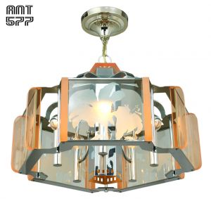 Mid-Century-Modern-Semi-Flush-Mount-Ceiling-Light-Fixture-Chandelier-(ANT-577)