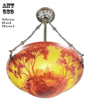 Ceiling-Bowl-Chandeliers-Handmade-Scenic-Landscape-Cameo-Glass-Lights-(ANT-589)