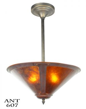 Mission-Style-or-Arts-&-Crafts-Ceiling-Bowl-Pendant-Light-Fixture-(ANT-607)