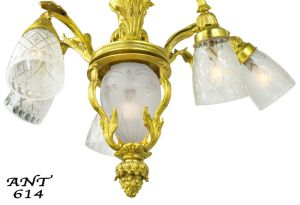 Neo-Rococo-French-Chandeliers-Pair-of-6-Arm-Ceiling-Lights-Fixtures-(ANT-614)
