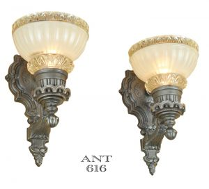 Edwardian Style Wall Sconces Traditional Antique Lights Fixtures (ANT-616)