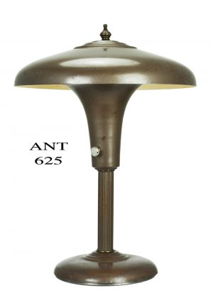 Streamline Art Deco Antique Table or Desk Lamp Circa 1920s - 1930s (ANT-625)
