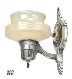 Art-Deco-Streamline-Antique-Wall-Sconces-Circa-1920---1930-Lights-(ANT-634)