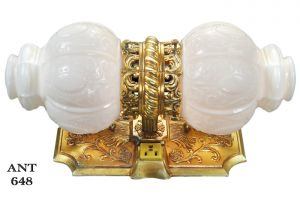 Vintage Double Wall Sconce Bathroom Sink Light Vanity Mirror Lighting (ANT-648)
