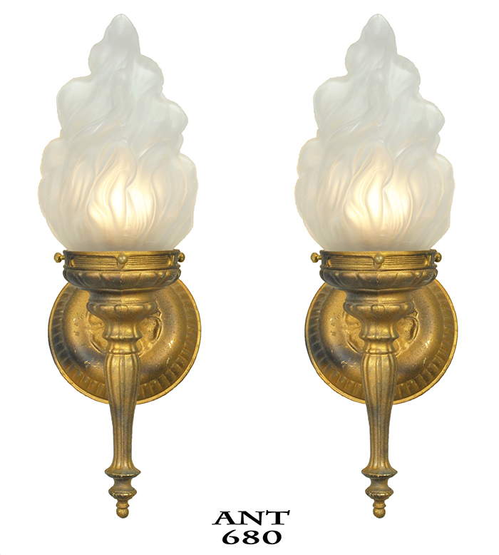 baccarat shade product light buy sconce detail with torch