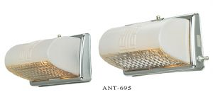 MidCentury Modern Wall Sconces Pair Bathroom Kitchen Lights Fixtures (ANT-695)