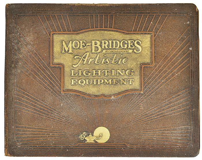 Antique Moe Bridges 1935 Catalog Ant 697