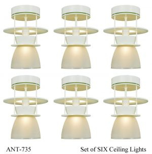 Art Deco / MidCentury Modern Ceiling Lights Semi Flush Mount Lighting (ANT-735)