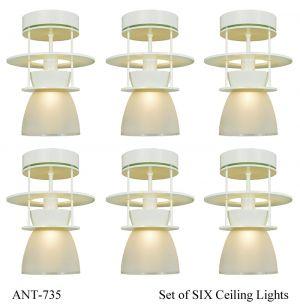 Art Deco Midcentury Modern Ceiling Lights Semi Flush Mount Lighting Ant 735