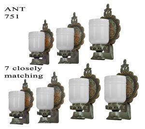 Antique Wall Sconces 1920s Lights Edwardian Fixtures - Sold by Each (ANT-751)