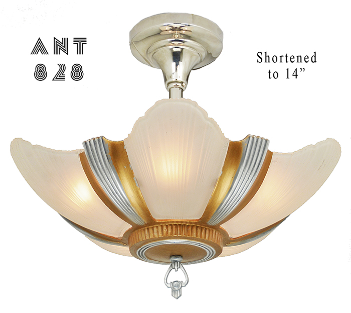 Vintage Hardware Amp Lighting Art Deco Streamline