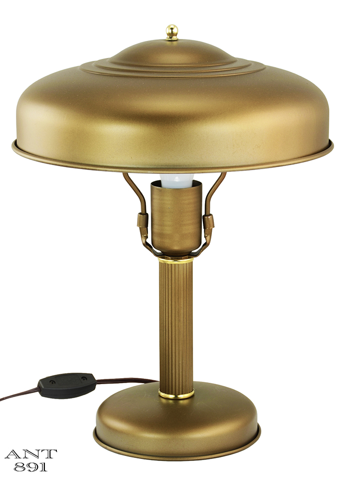 Vintage hardware lighting art deco streamline table lamp metal sold call to request similar keyboard keysfo