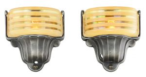 American Art Deco Streamline Sconces by Virden (ANT-911)