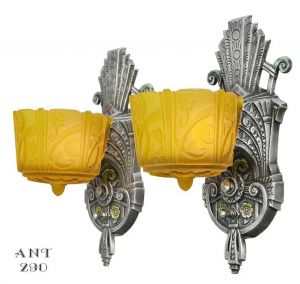 Pair-of-American-Art-Deco-sconces-by-Lincoln-(ANT-290)