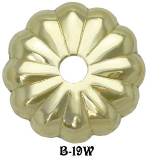 "Chinese Lotus Flower Washer 1 1/4"" Diameter (B-19W)"