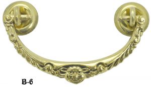 Victorian Face Adorned Bail Handle (B-6)