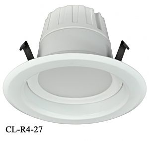 "4"" Dimmable LED Retrofit Recessed Down Light 9-Watt 2700K (CL-R4-27)"