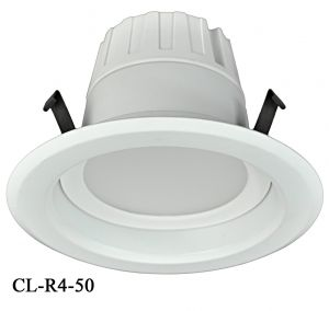 "4"" Dimmable LED Retrofit Recessed Down Light 9-Watt 5000K (CL-R4-50)"