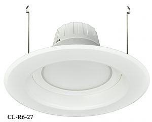 "6"" Dimmable LED Retrofit Recessed Down Light 13-Watt 2700K (CL-R6-27)"