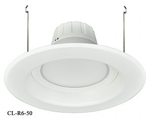 "6"" Dimmable LED Retrofit Recessed Down Light 13-Watt 5000K (CL-R6-50)"