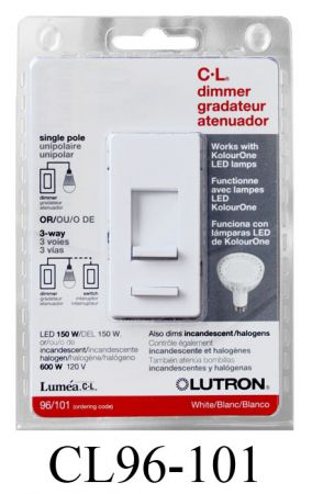 Lutron CL Dimmer for LEDs  (CL96-101)