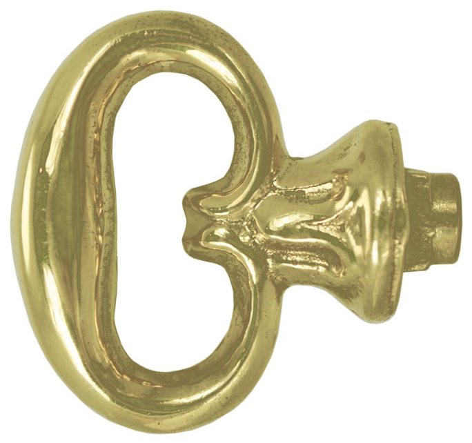 Vintage Hardware Amp Lighting Mock Key Bow Pull Knob D 12