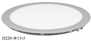 Thin Panel LED Diffused and Dimmable 13Watt LED Recessed Thin Panel Light (D220-W13-5)