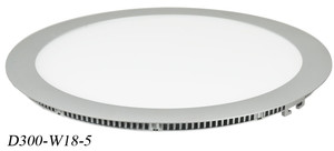 Thin Panel LED Diffused and Dimmable 18Watt LED Recessed Thin Panel Light (D300-W18-5)