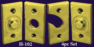 Transom Window Pivot Hinges- Set of 4 (H-102)