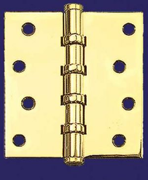 "3 1/2"" x 3 1/2"" Hinges with Flat Finials (H-3535-F4F)"