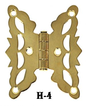 Pair-of-Flush-Mount-Butterfly-Hinges-(H-4)