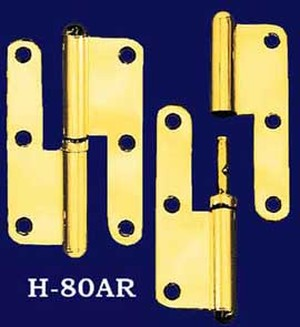 Pair of Right Hand Lift Off Hinges (H-80AR)