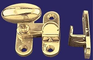 "1/2"" Offset Latch with Oval Knob (I-12C)"