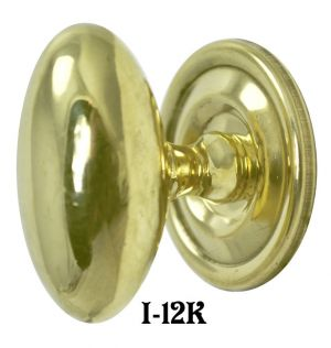 "Icebox Recreated Oval 7/8"" x 1 1/2"" Knob (I-12K)"