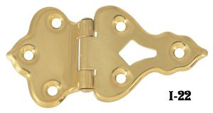 "Icebox Pair of 1/2"" Offset Icebox Hinges (I-22)"
