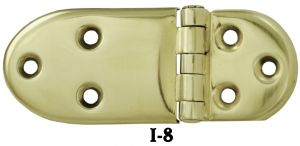 "Icebox Recreated Pair of Plain 3/8"" Offset Hinges (I-8)"