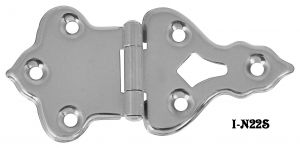 Icebox-Pair-of-Special-Flush-Mount-Wide-Angle-Open-Throw-Hinges-(I-22S)