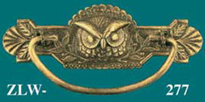 Pair-of-Cast-Iron-Owl-Andirons-(I-R8AND)