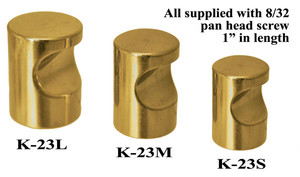 "Whistle Pull Knob 1/2"" Diameter (K-23S)"