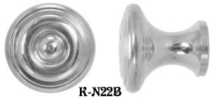Contemporary-1.25-inch-Diameter-Knob-(K-22B)