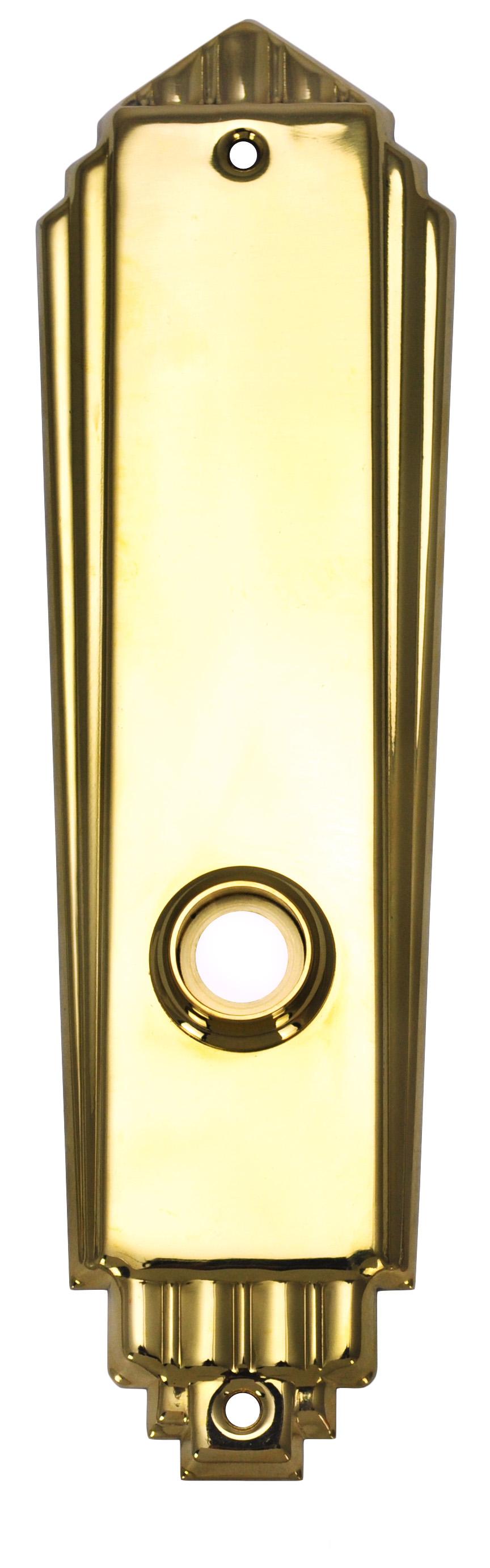 Vintage Hardware Amp Lighting Art Deco Door Plate No
