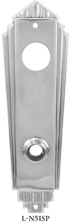 Art-Deco-Entry-Door-Plate-(L-51SP)