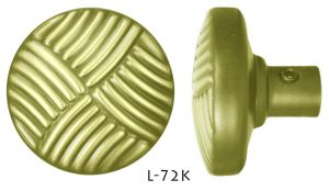 Antique-Recreated-Art-Deco-Brass-Doorknobs-Set-(L-72K)