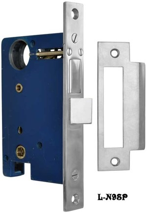 Entry-Door-Mortise-Lock-for-Doorknob-Exterior-and-Doorknob-Interior-Function-with-2.5-inch-Backset-(L-9SP)