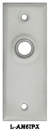 Non-Locking-Screen-Door-Plate-(L-67PX)
