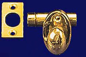 "Extra Short Deadbolt 1 1/2"" Long With 3/4"" Backset (L-39XS)"